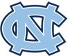 North Carolina Tar Heels logo, virginia tech football roster cards