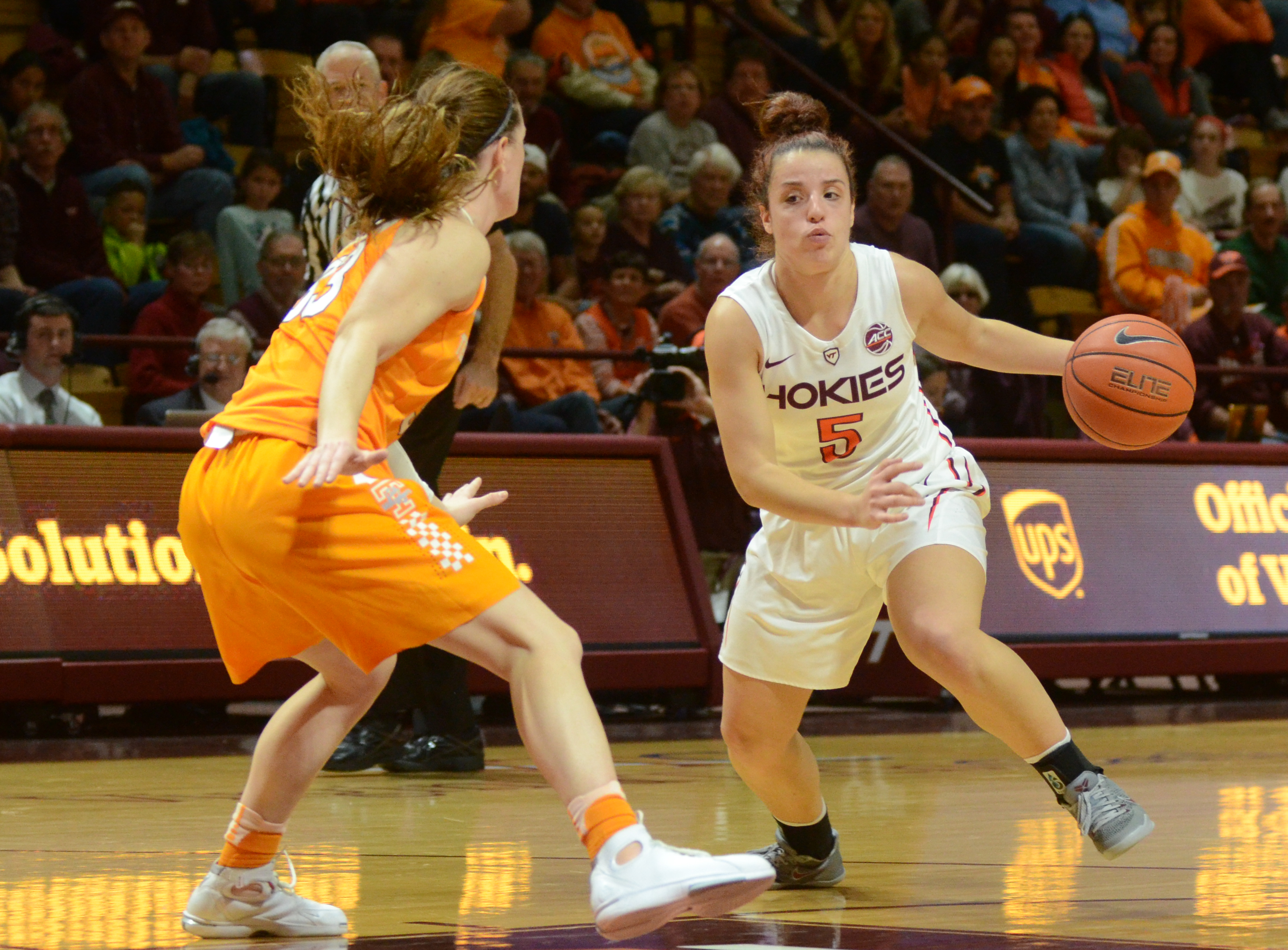 Virginia Tech women's basketball Vanessa Panousis