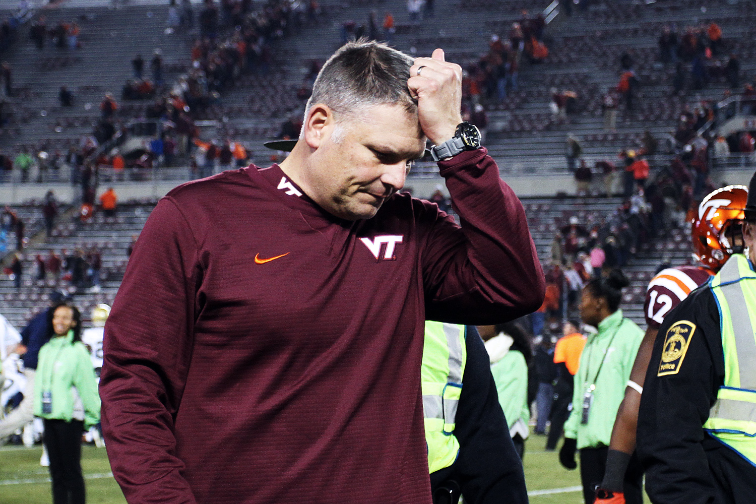Justin Fuente Virginia Tech football