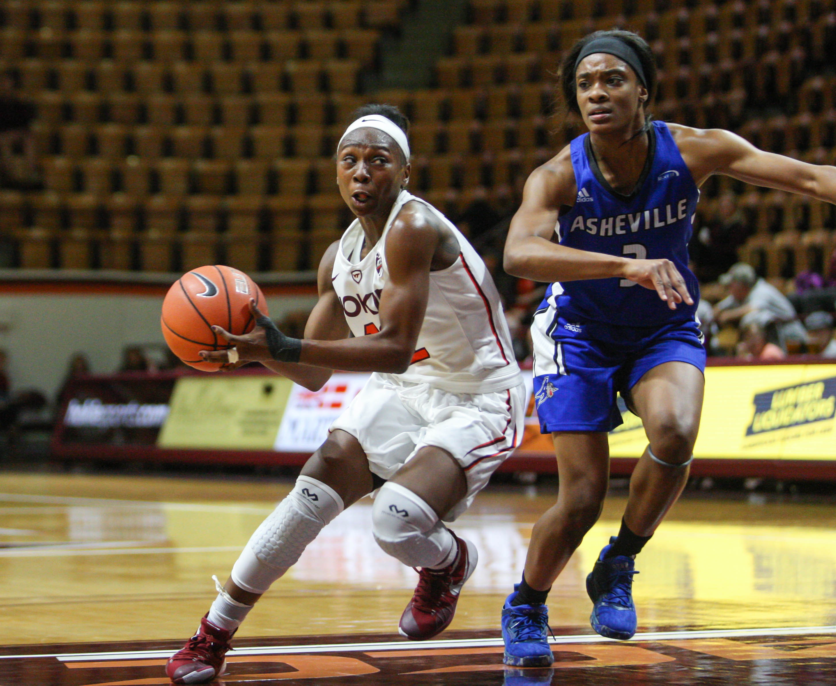 Chanette Hicks Virginia Tech women's basketball