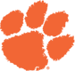 Clemson Tigers logo, virginia tech football roster cards