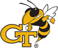 GT Yellow Jackets logo, virginia tech football roster cards