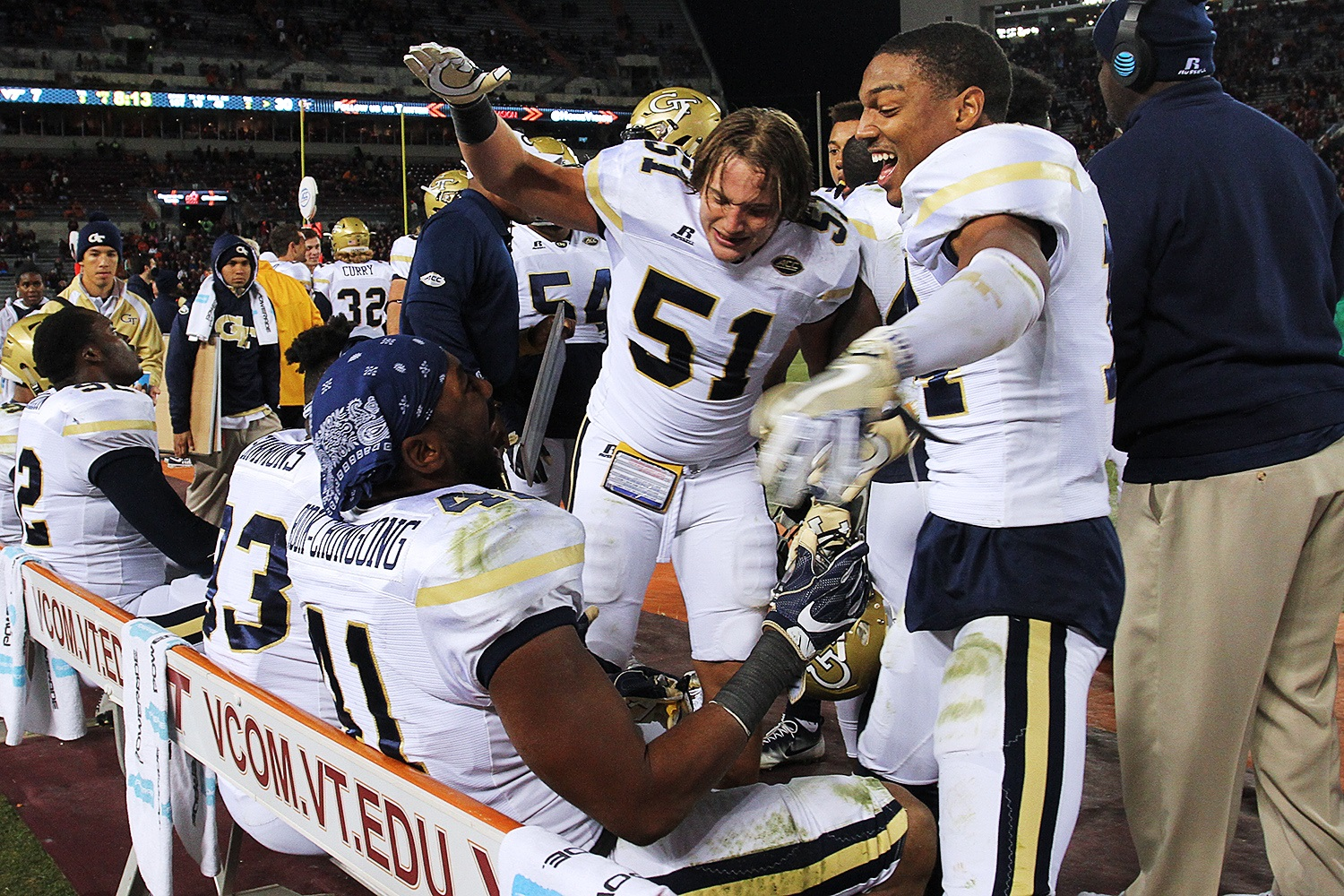 Georgia Tech had been terrible on the road recently, but that didn't matter on Saturday (All photos by Ivan Morozov)