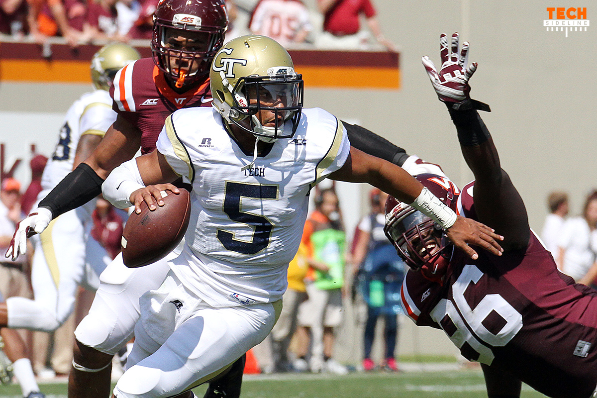 The Hokies must stop Justin Thomas and the triple option.
