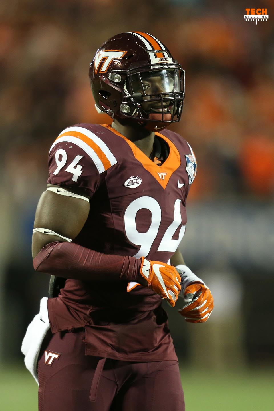 Trevon Hill Virginia Tech football