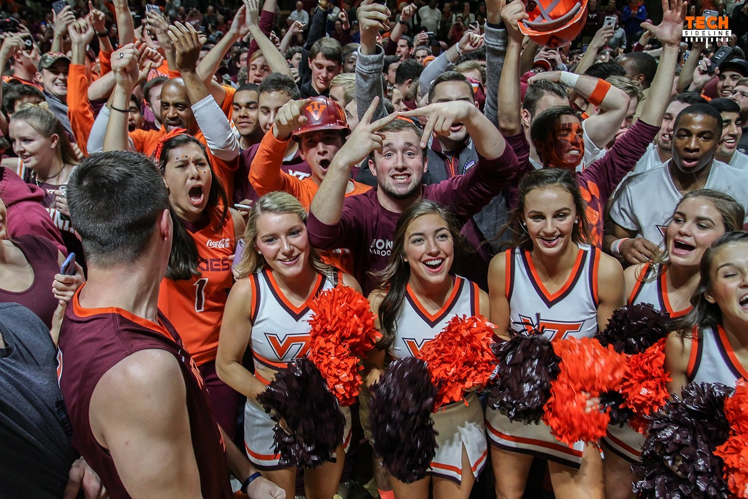 Virginia Tech fans have a lot to celebrate right now. (Ivan Morozov)
