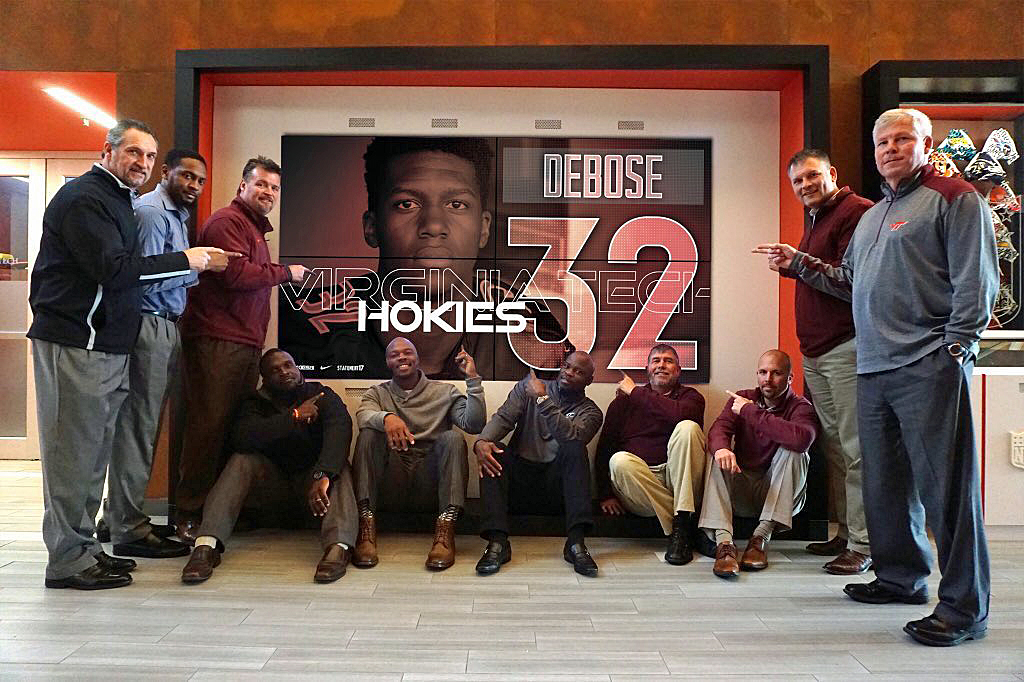 Zion DeBose Virginia Tech recruiting
