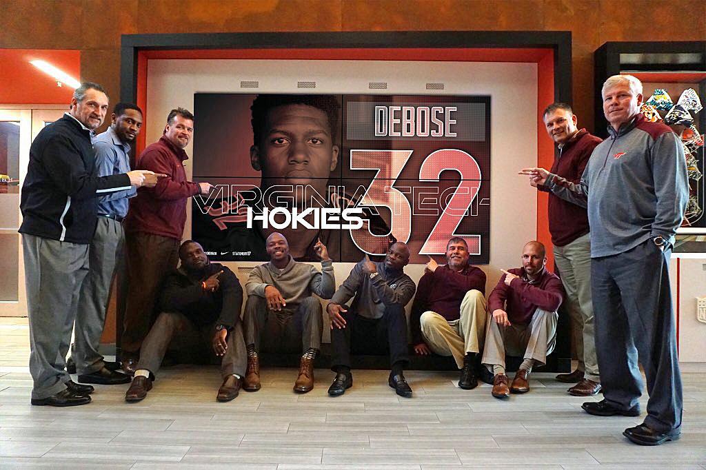 ZionDeBose Virginia Tech recruiting