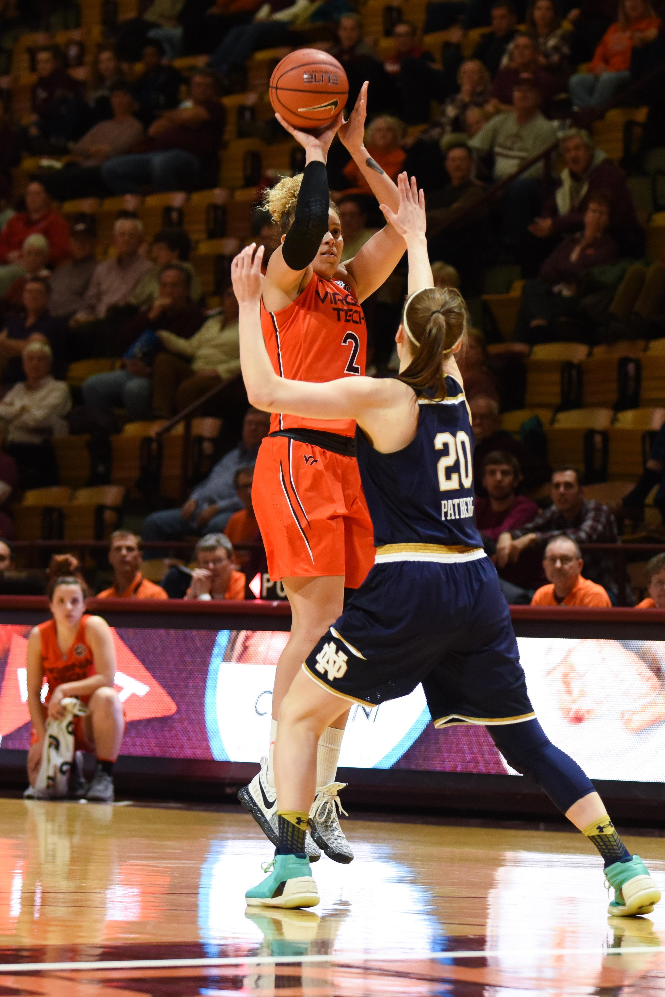 Virginia Tech women's basketball Sidney Cook