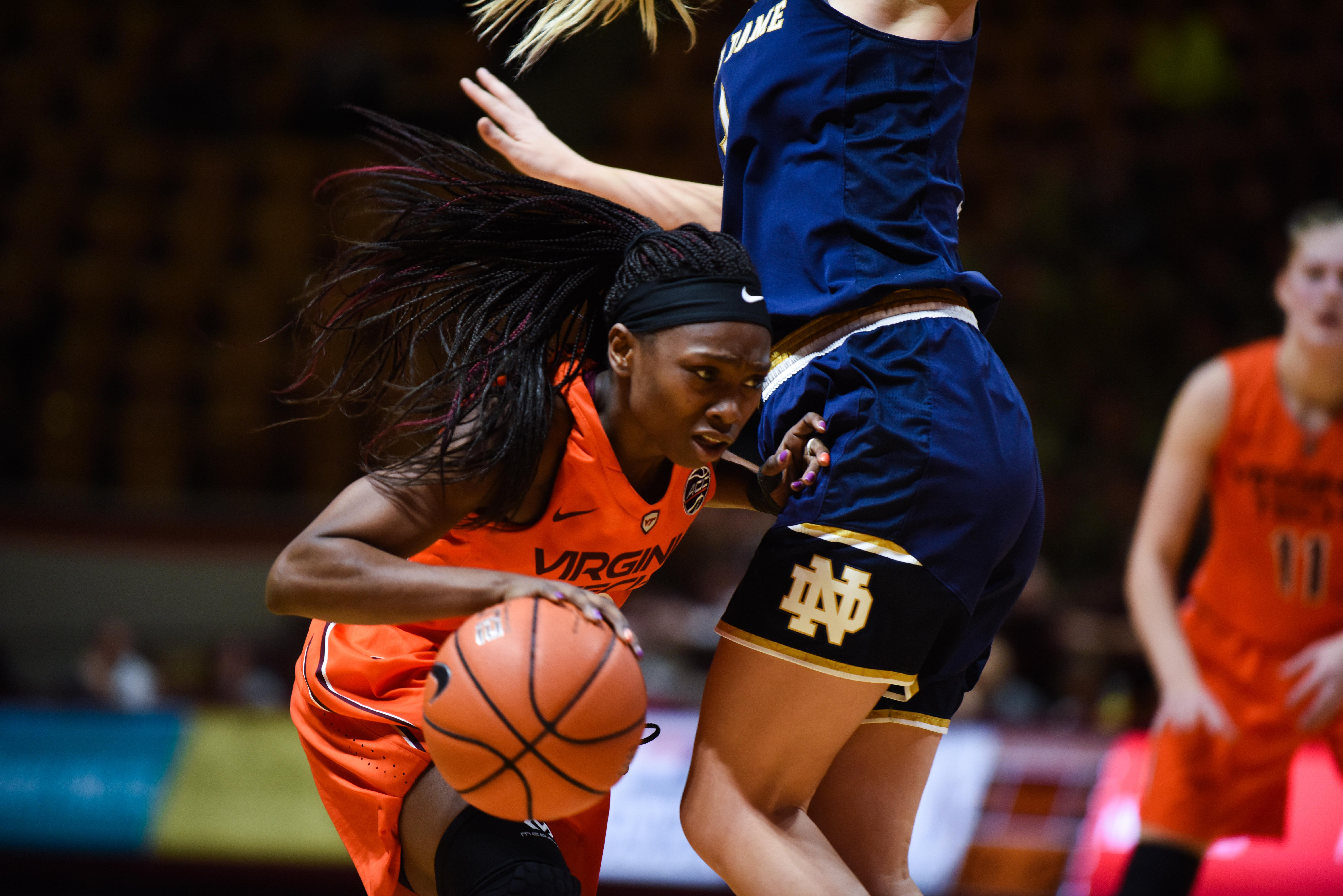Virginia Tech women's basketball Chanette Hicks