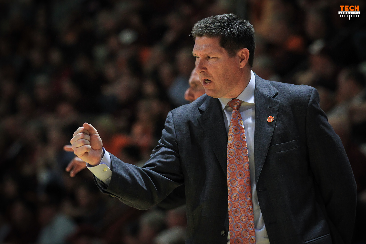 Brad Brownell Clemson Tigers Virginia Tech