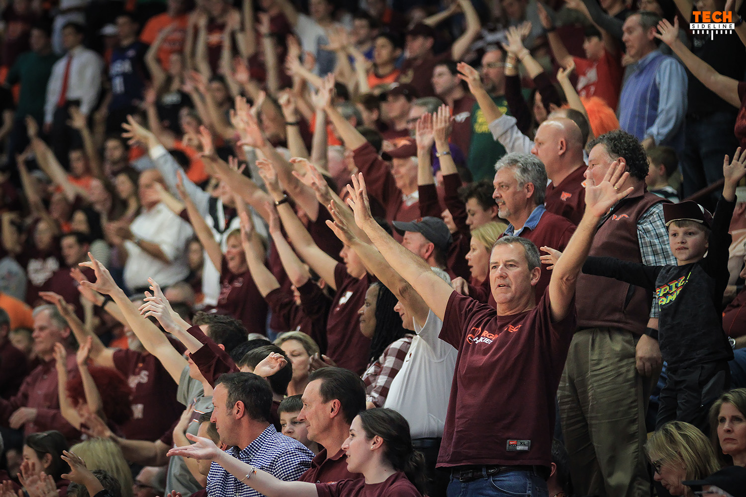 Tech fans are anticipating an NCAA Tournament berth this year. (Ivan Morozov)