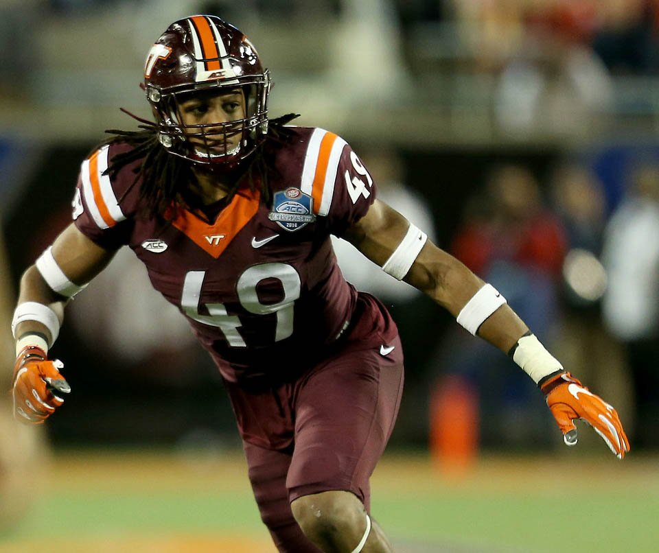 tremaine edmunds nfl draft projections techsidelinecom