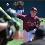 Nick Anderson has had a great year on the mound.(Virginia Tech sports photography)