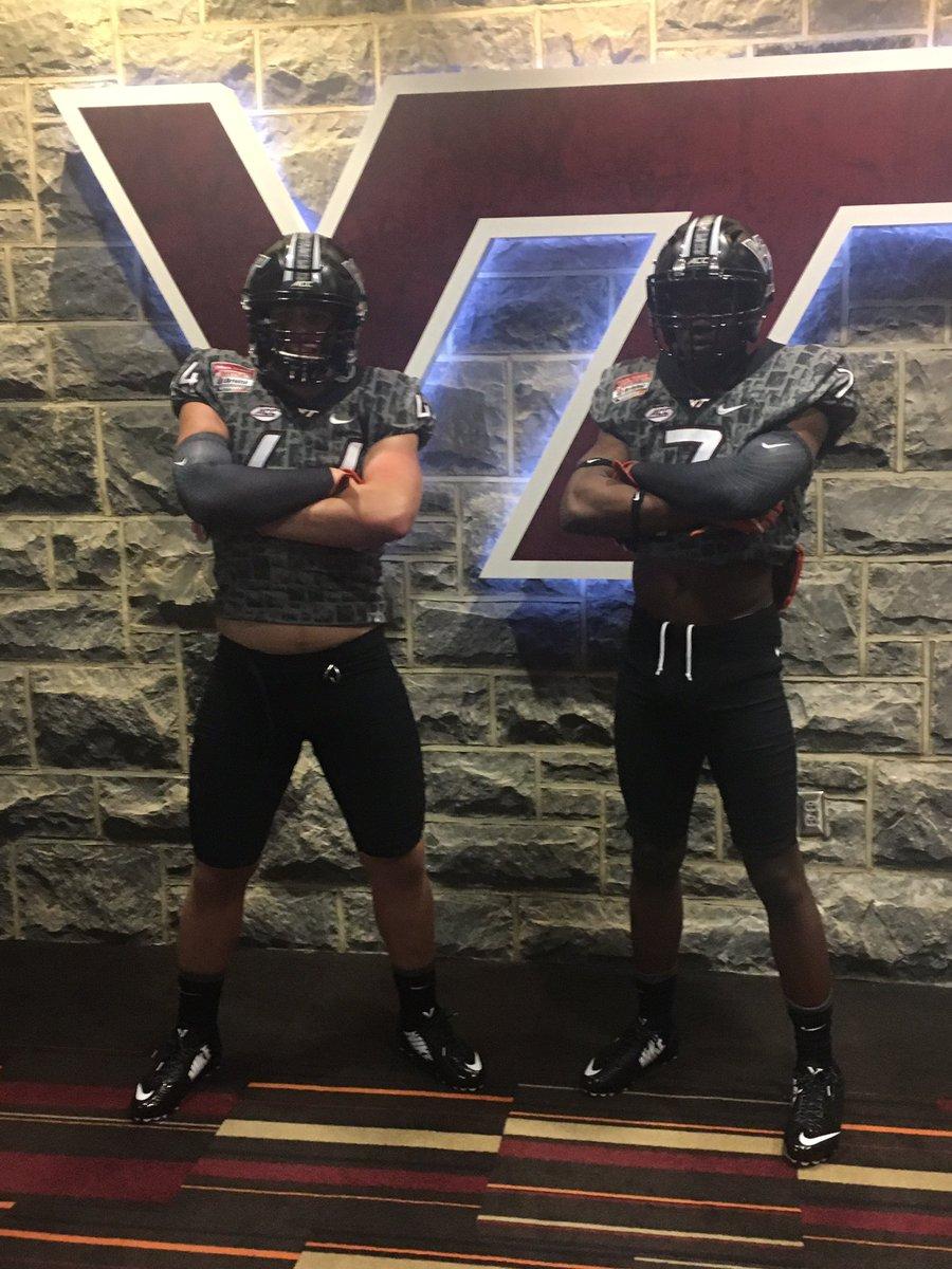 dax hollifield dj crossen Virginia Tech recruiting