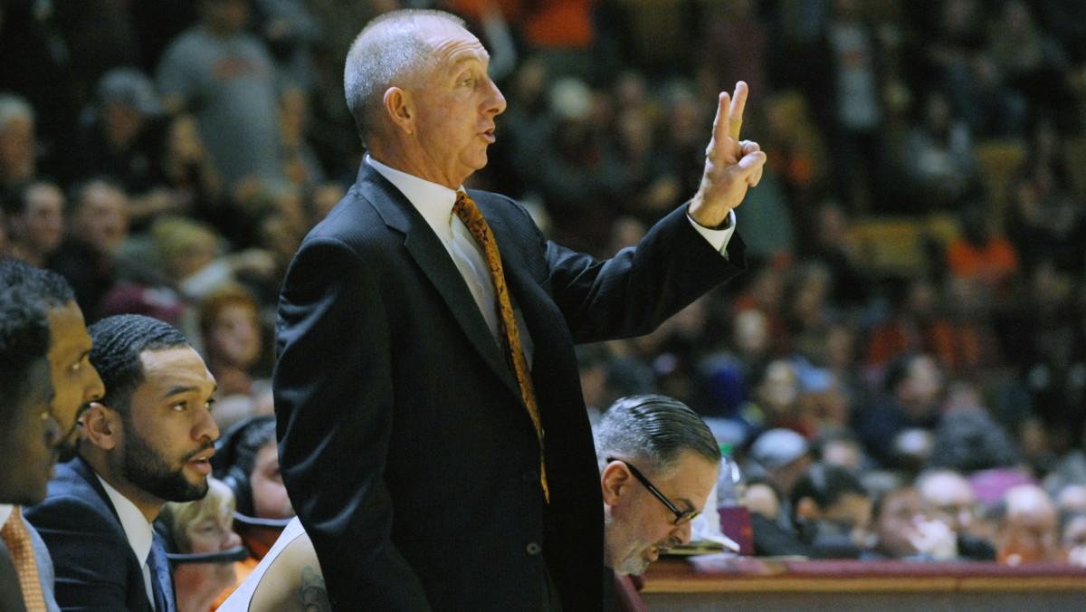Jeff Reynolds Virginia Tech men's basketball