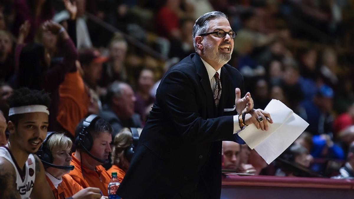 Steve Roccaforte Virginia Tech men's basketball