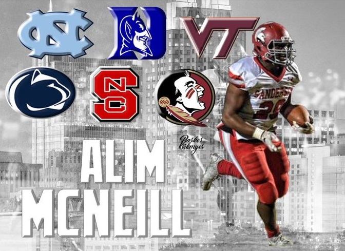 Alim McNeill Virginia Tech recruiting