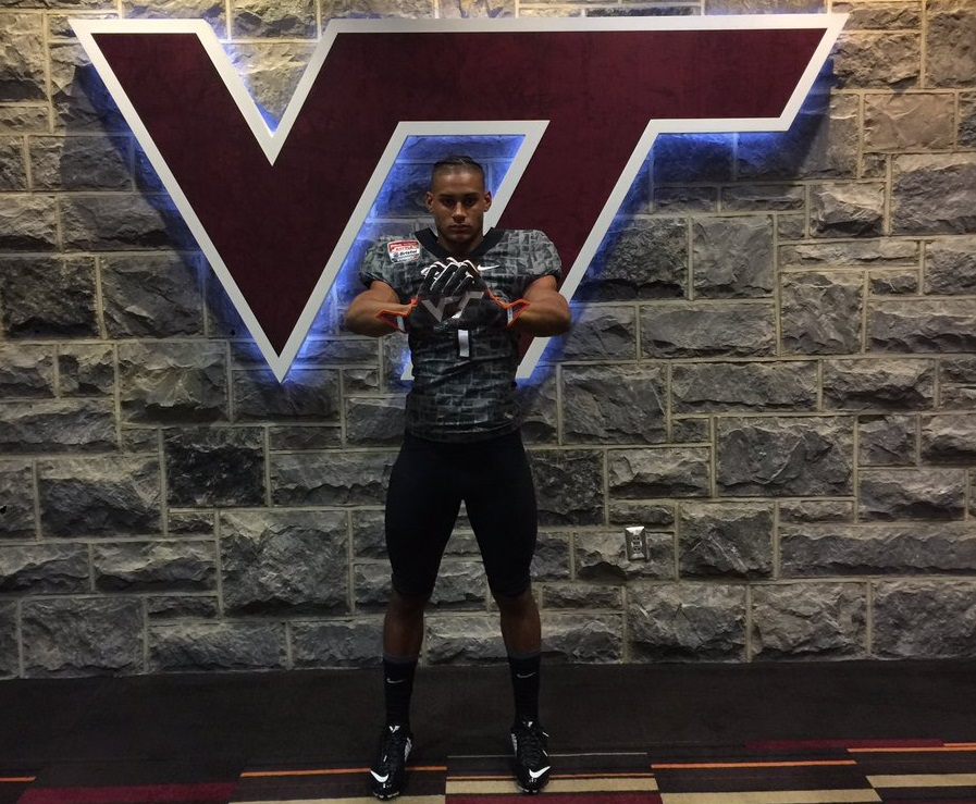 Virginia Tech recruiting Caleb Steward