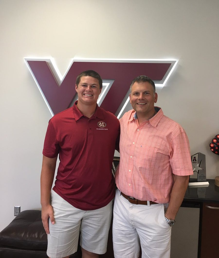 John&nbsp:Harris Virginia Tech recruiting