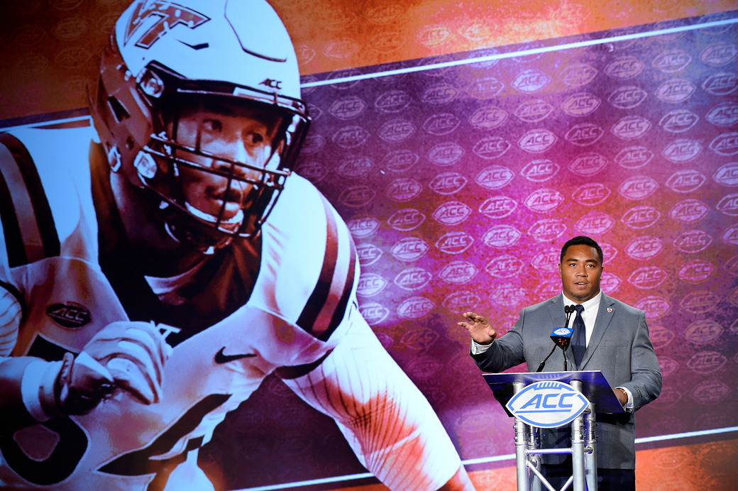 Virginia Tech football ACC Kickoff