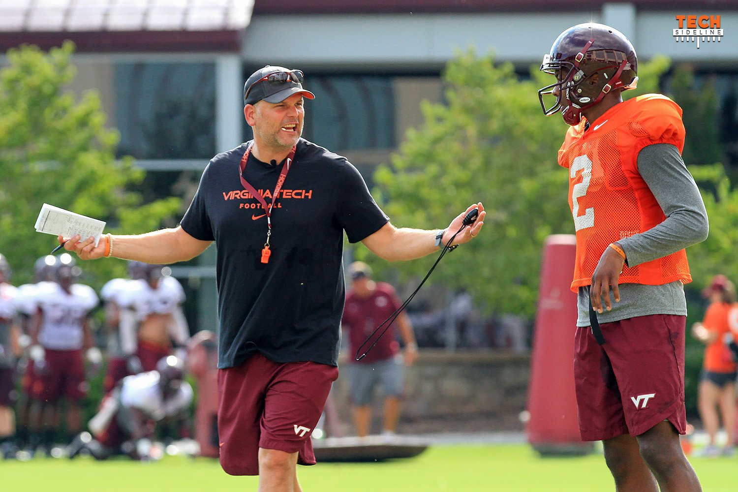 Fuente Names Red-Shirt Freshman Josh Jackson as Hokies' Starting Quarterback