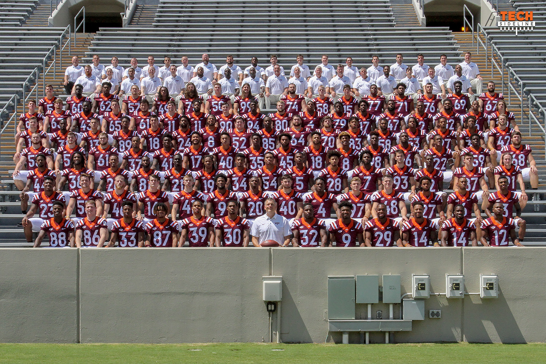 2017 Virginia Tech Football Roster Cards Techsideline Com