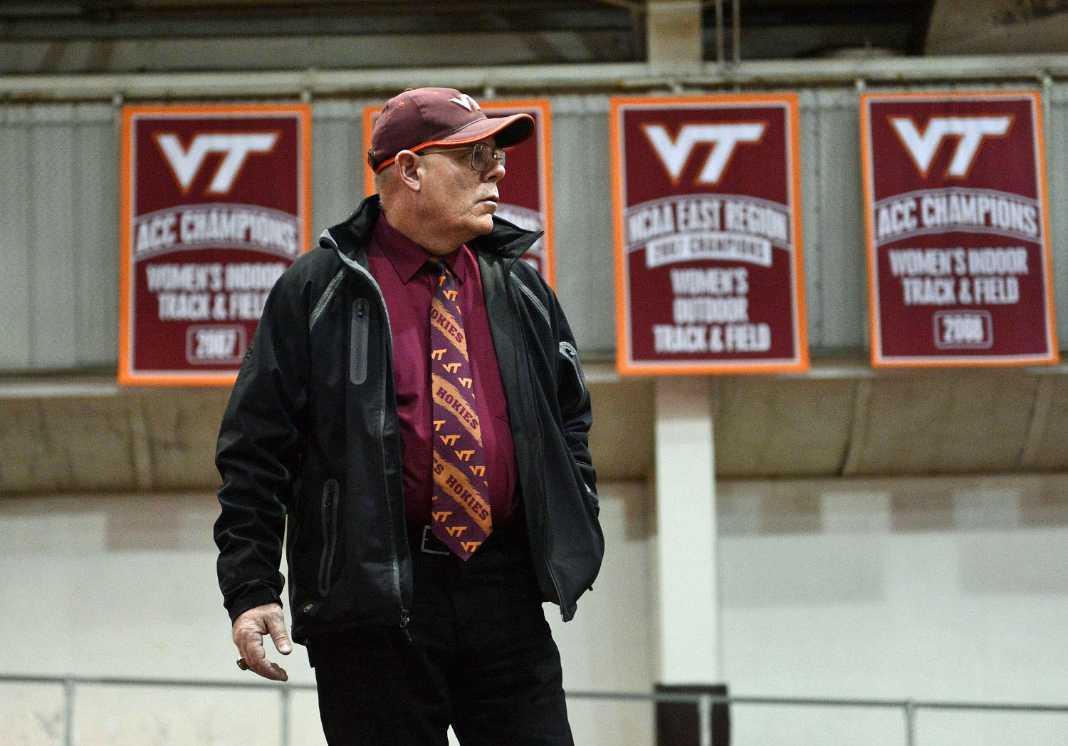 Dave Cianelli Virginia Tech track and field
