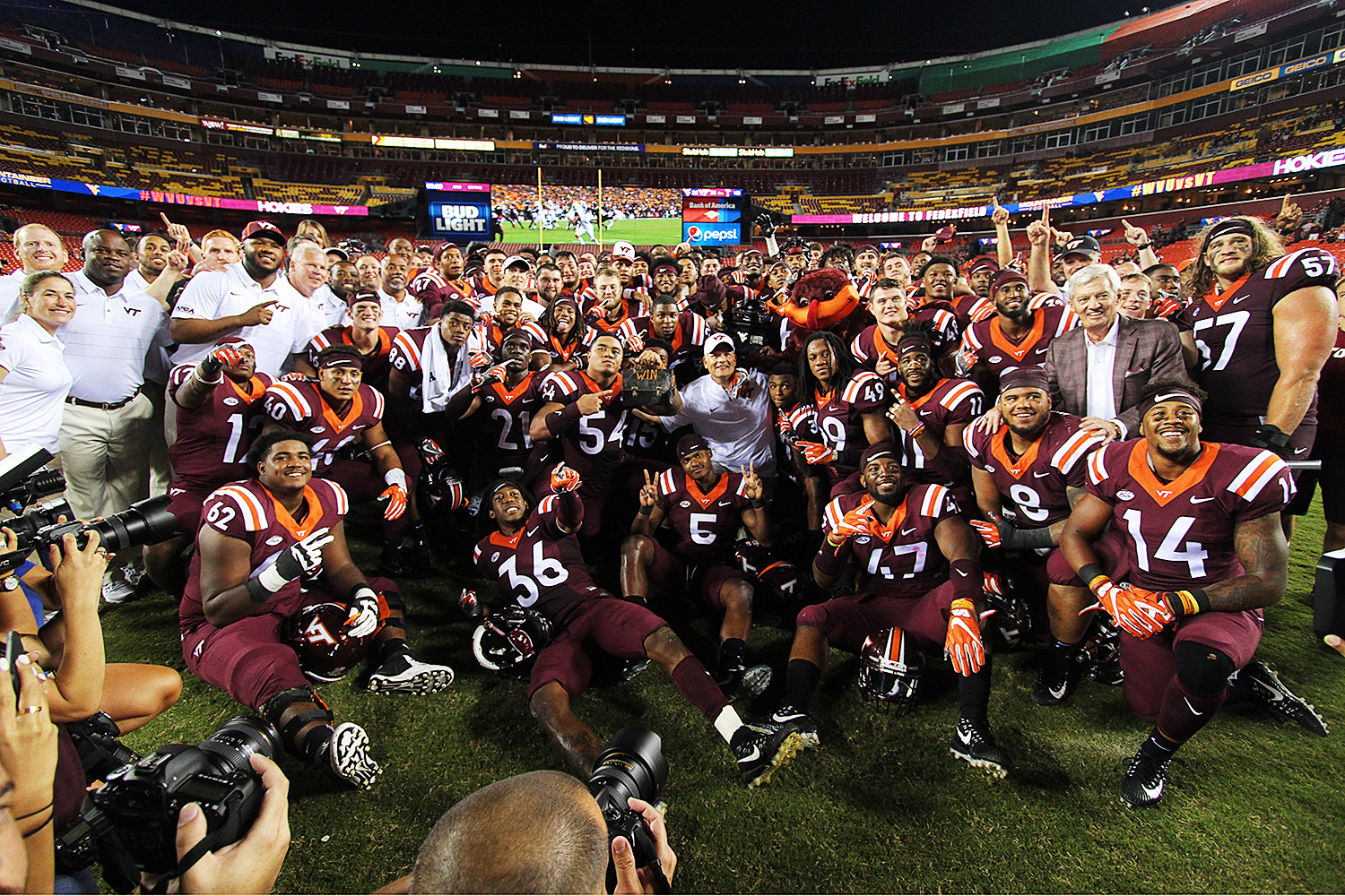 Virginia Tech football rises in coaches poll after West Virginia win