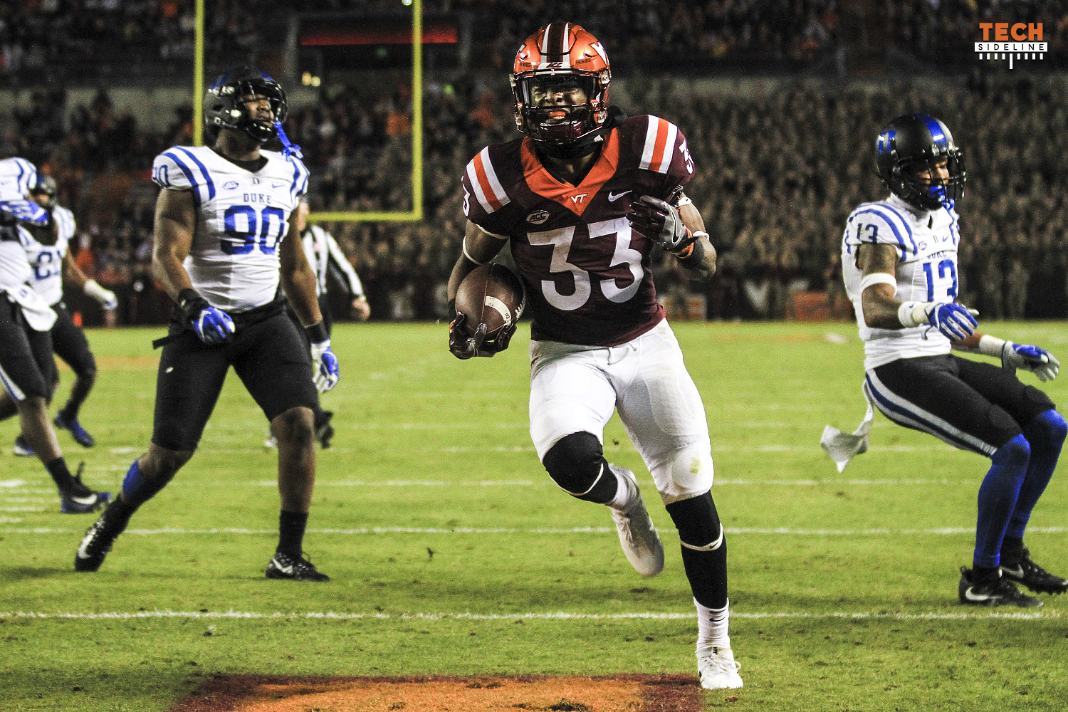 Virginia Tech shuts down Duke 24-3