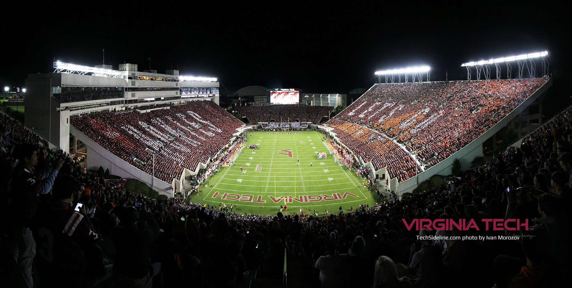 Virginia Tech Announces Unc Game Sold Out Techsideline Com
