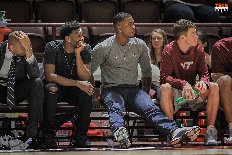 Virginia Tech men's basketball TyOutlaw