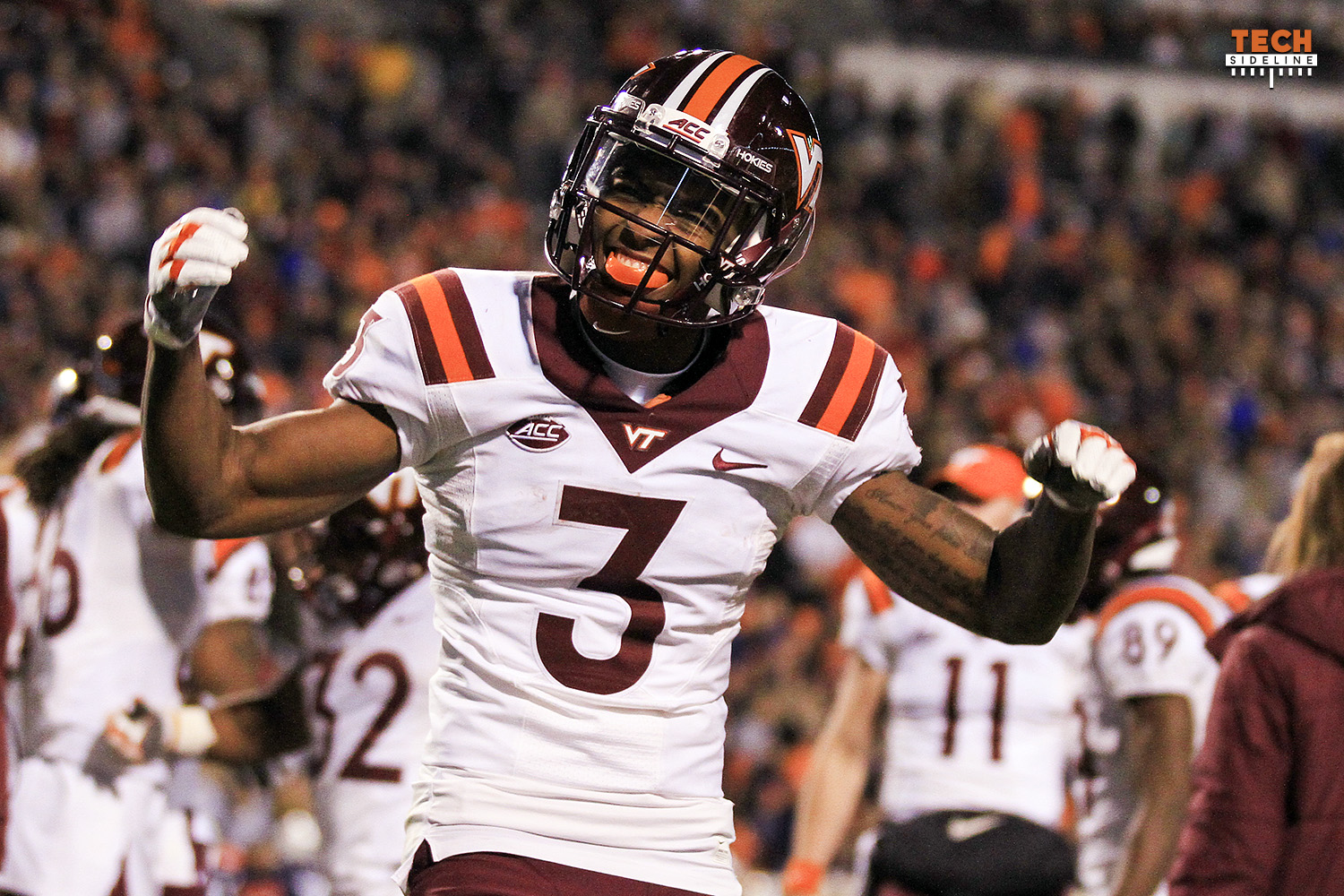 Greg Stroman Virginia Tech