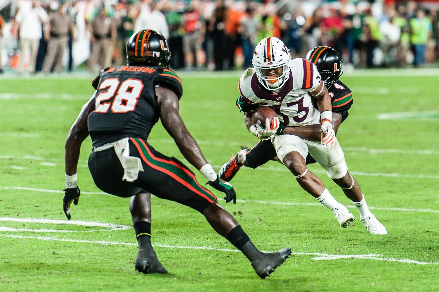 Virginia Tech shifts gears to defending the triple option