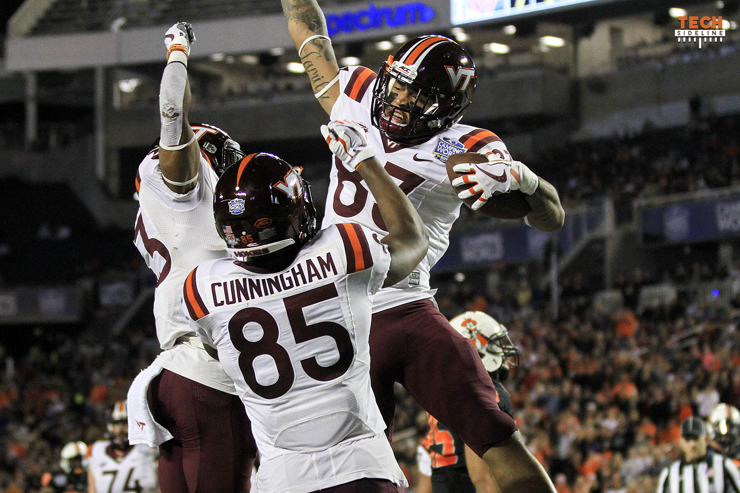 Virginia Tech Chris Cunningham Eric Kumah transfer portal