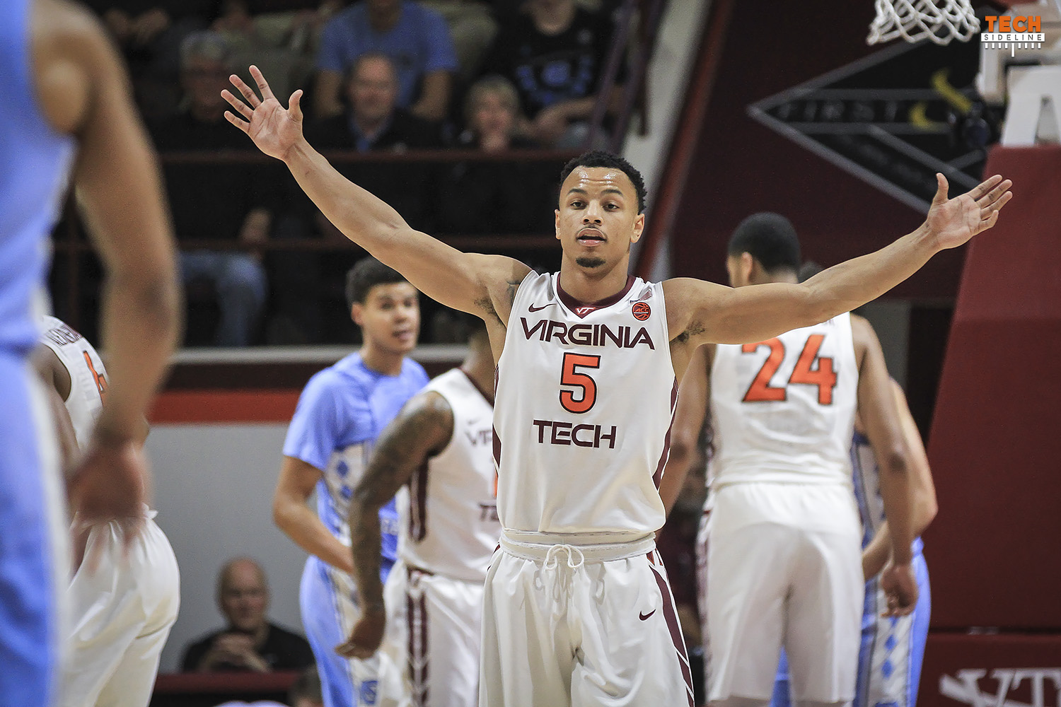 Virginia Tech basketball Justin Robinson