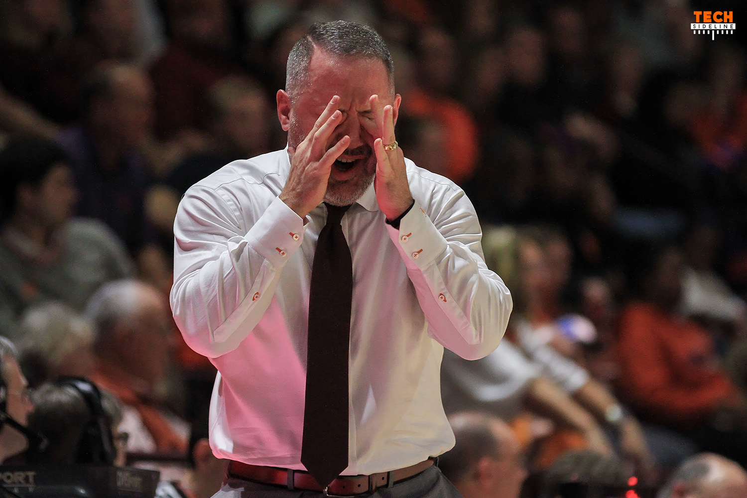 It was an epic collapse for the Hokies in Brooklyn