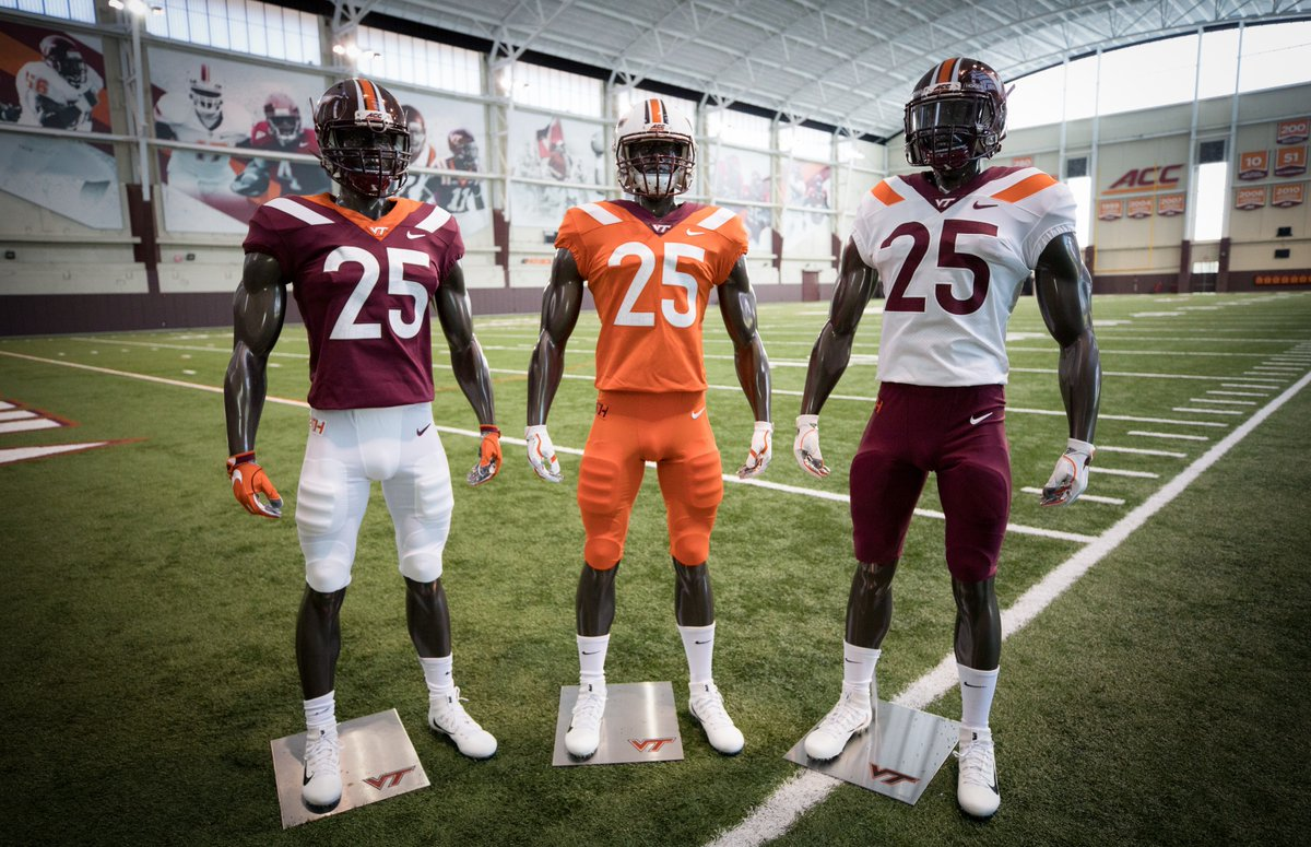 2e513c07657 Virginia Tech Football Introduces New Uniforms for 2018 Season ...
