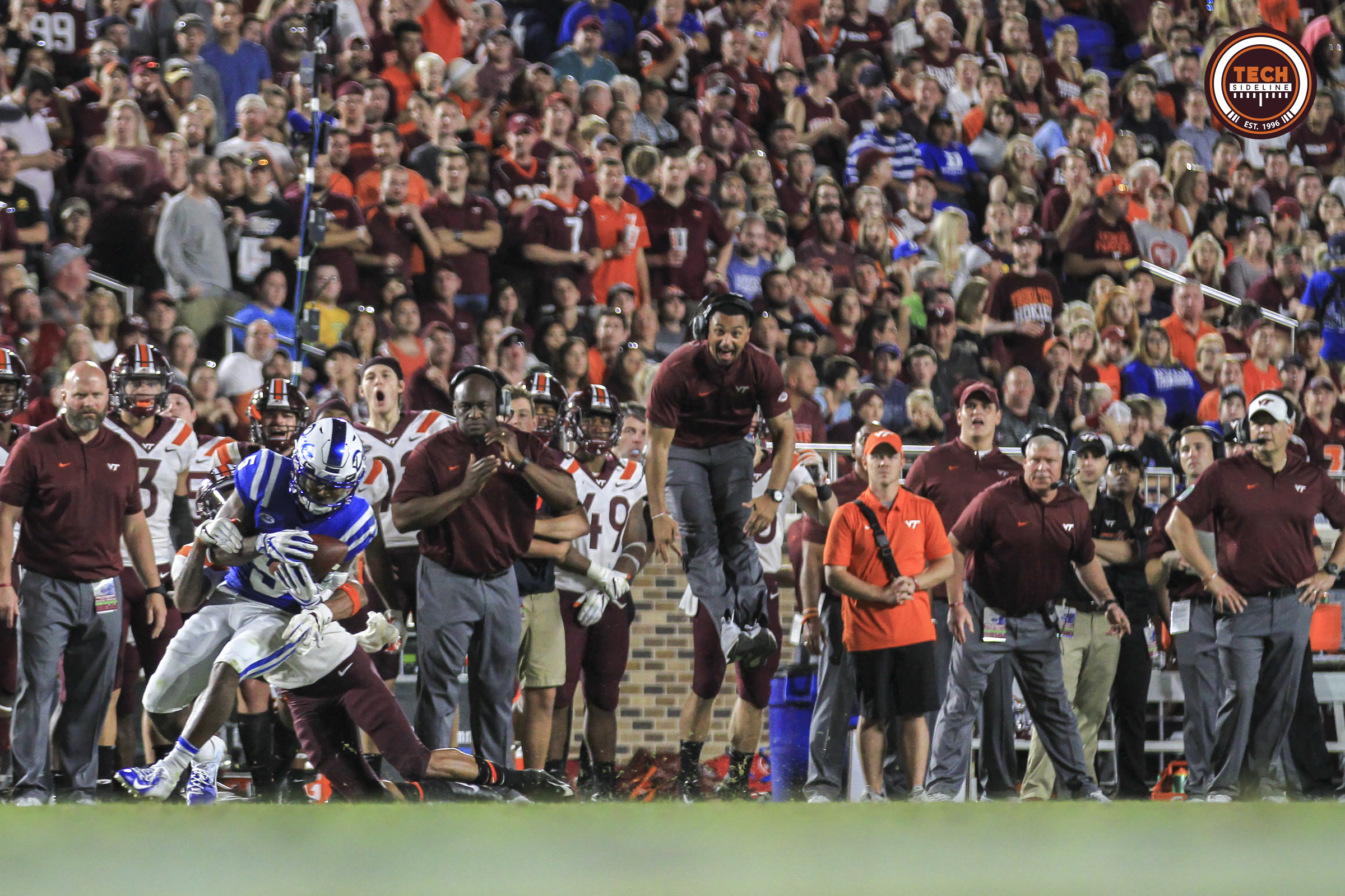 Virginia Tech football The Moment