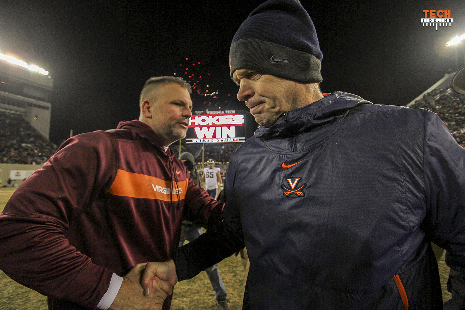 Justin Fuente, Virginia Tech, Bronco Mendenhall