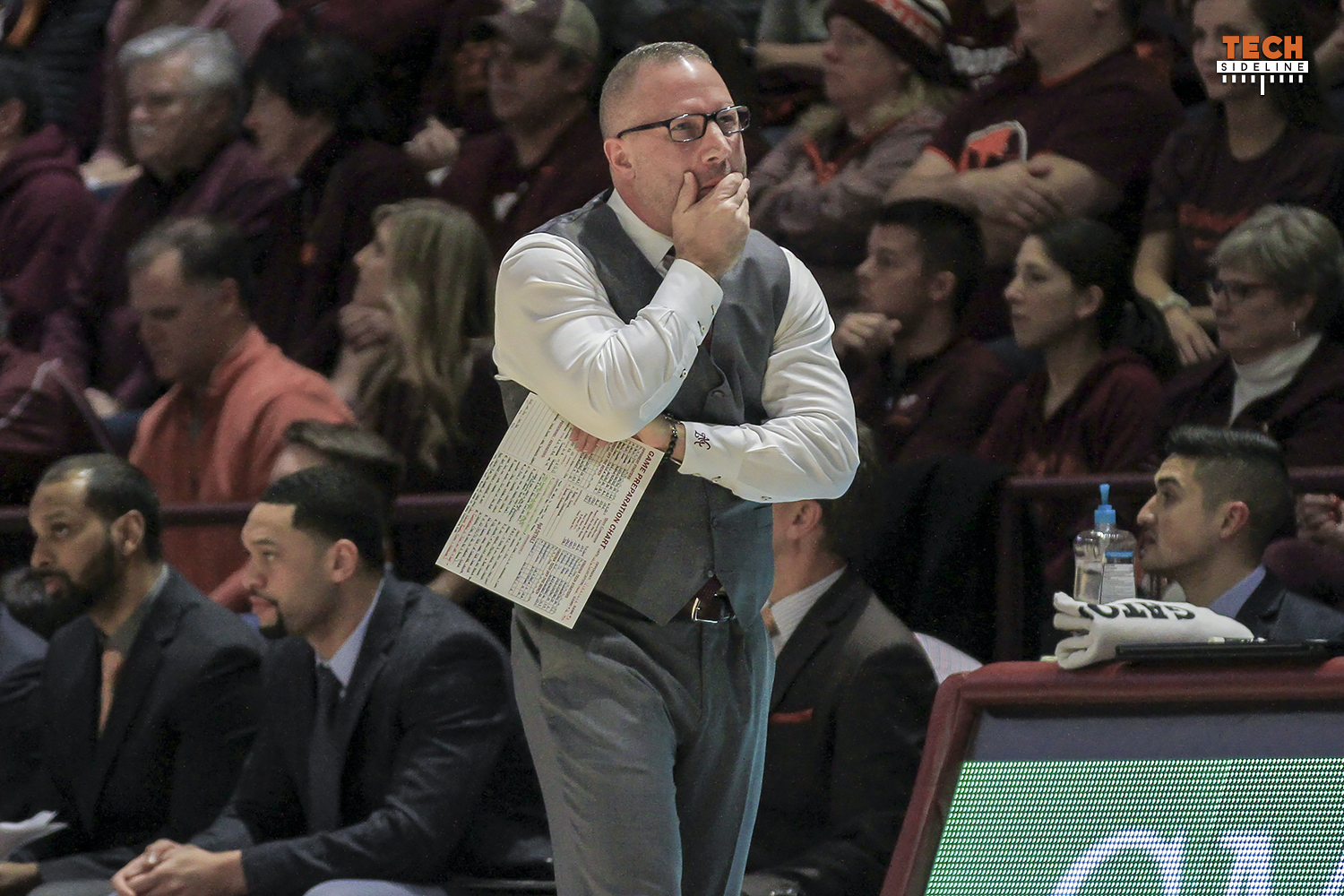 Buzz Williams Virginia Tech