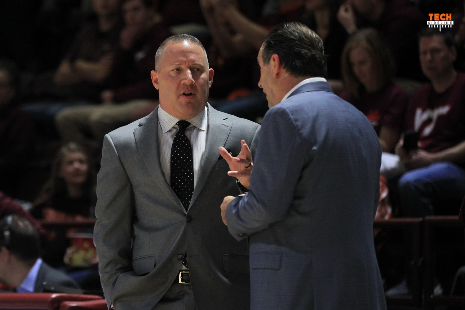 Buzz Williams Virginia Tech Mike Brey