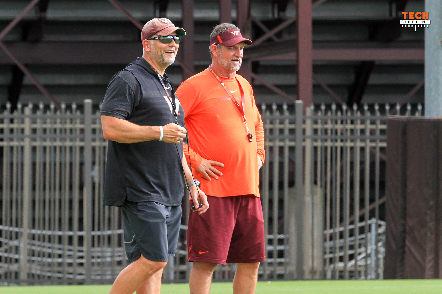 Justin Fuente, Bud Foster, Virginia Tech