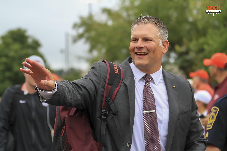 Justin Fuente Virginia Tech Reach for Excellence Campaign