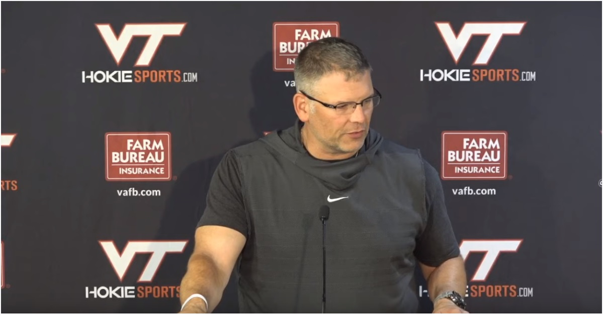 Virginia Tech Justin Fuente