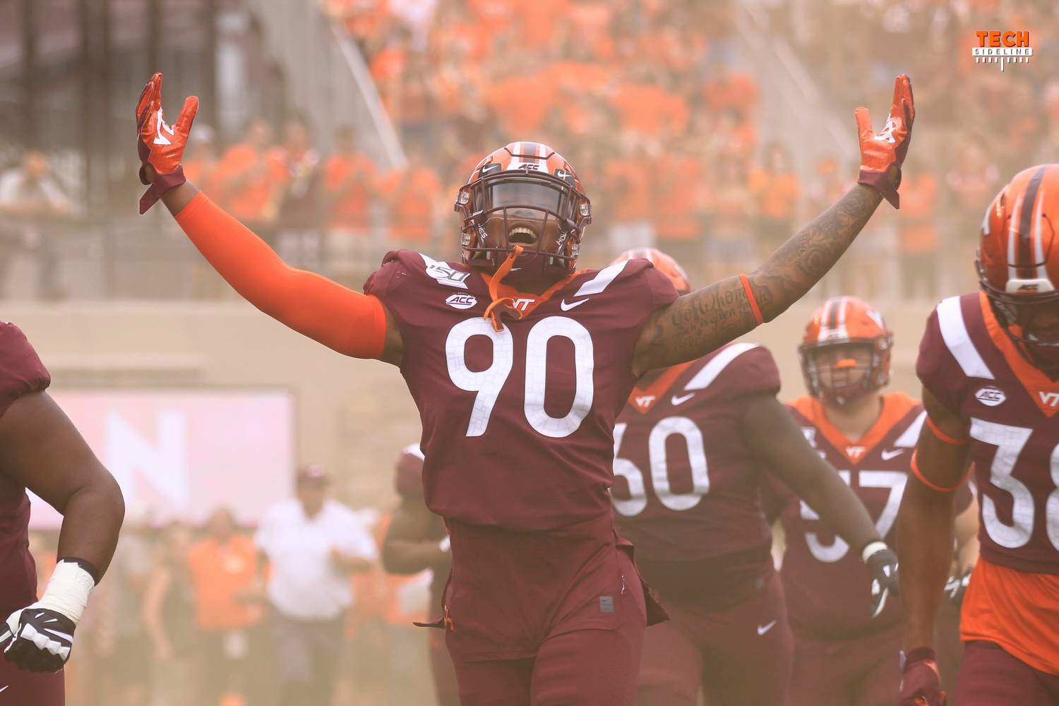 Jaevon Becton, Virginia Tech