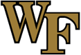 Wake Forest logo, virginia tech football roster cards