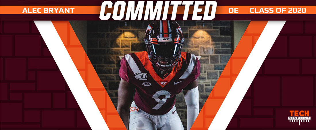 AlecBryant commits to Virginia Tech