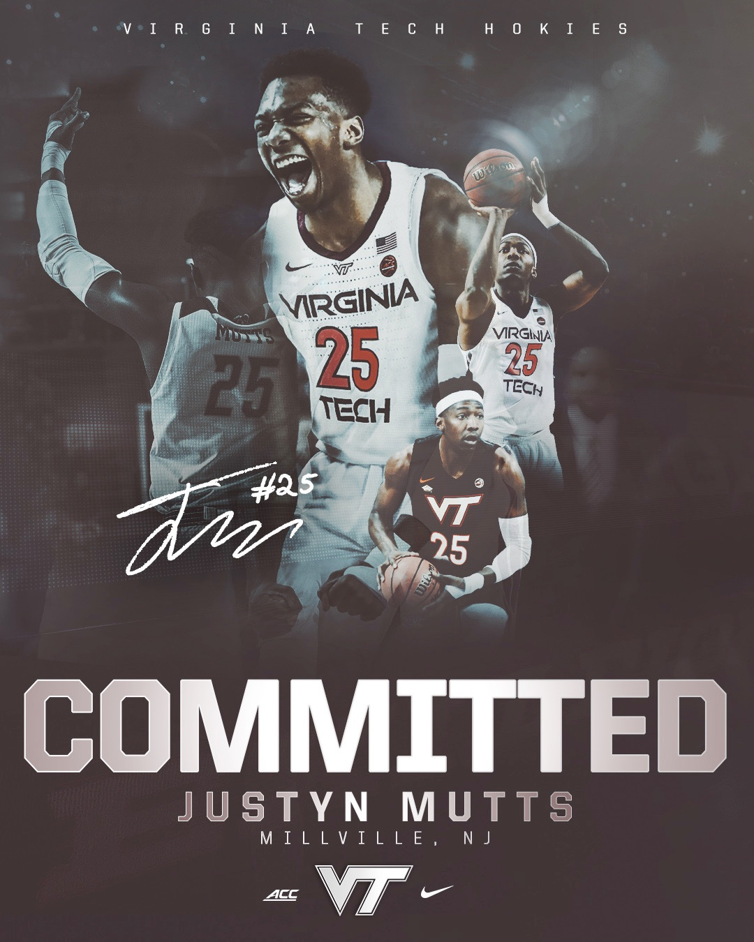 Justyn Mutts, Virginia Tech