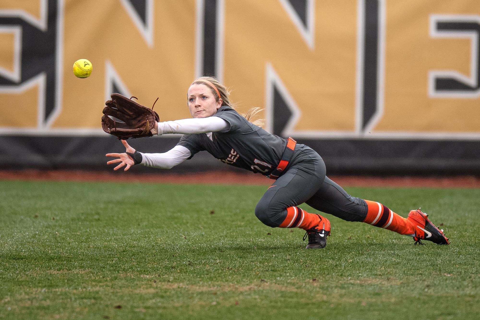 Kelsey Brown Virginia Tech Softball